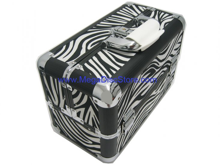 Zebra Makeup Train Case Free Shipping - Click Image to Close