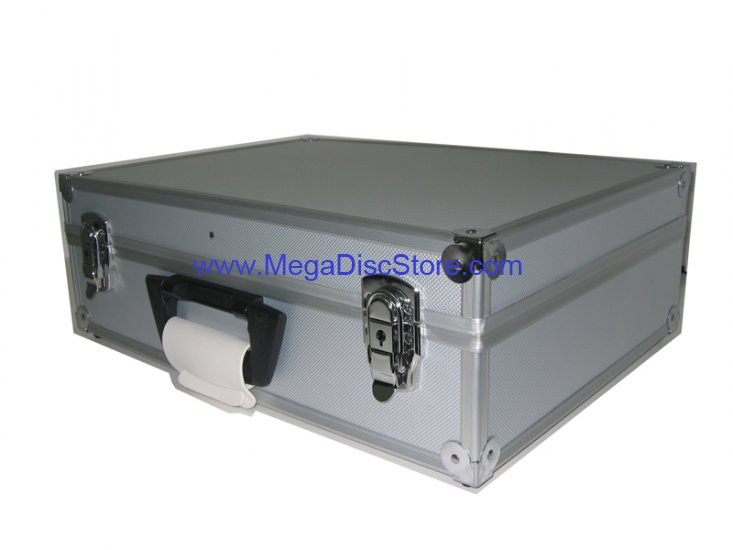 Silver Aluminum Tool Case Free Shipping - Click Image to Close
