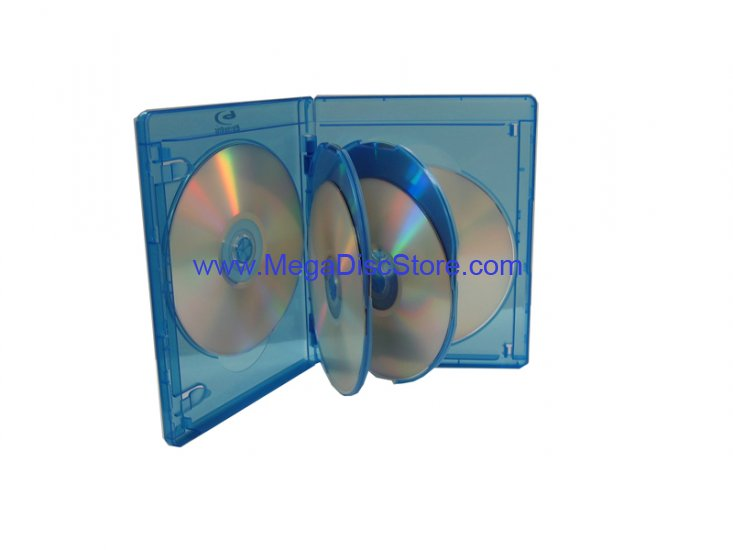 BLU-RAY MULTI CASE (HOLDS 6 DISCS) VIVA ELITE Free Shipping - Click Image to Close